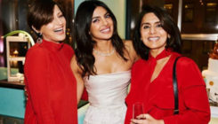 Sonali Bendre gets emotional at Priyanka Chopra's bridal shower while wearing bright colours