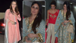 In pics: Kareena Kapoor Khan, Amrita, Iulia and others dazzle at Mallika Bhat's Diwali bash