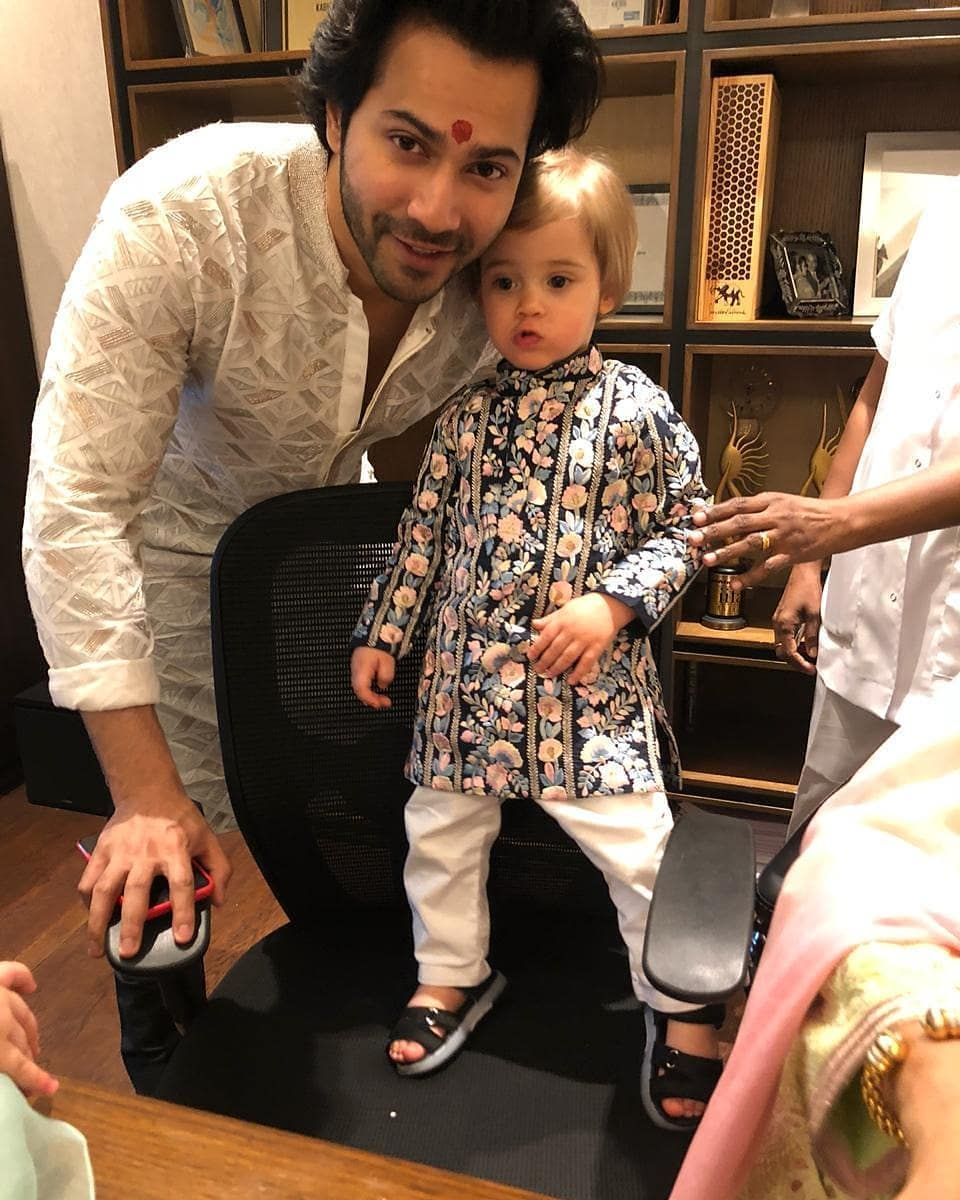 Varun Dhawan and Yash Johar