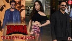 Ranveer Singh, Sara Ali Khan, Rohit Shetty, Karan Johar attend 'Simmba's trailer launch