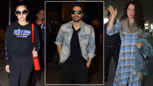 In Pics: Alia, Varun, Kangana and others make a picture perfect splash at the airport