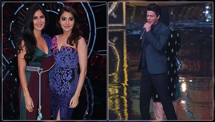 Katrina, Anushka and Shah Rukh promote their film 'Zero' on 'Indian Idol' show, view pics