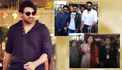 See pics and videos: Prabhas, Anushka, Rana and others reach Jaipur for SS Rajamouli's son's wedding