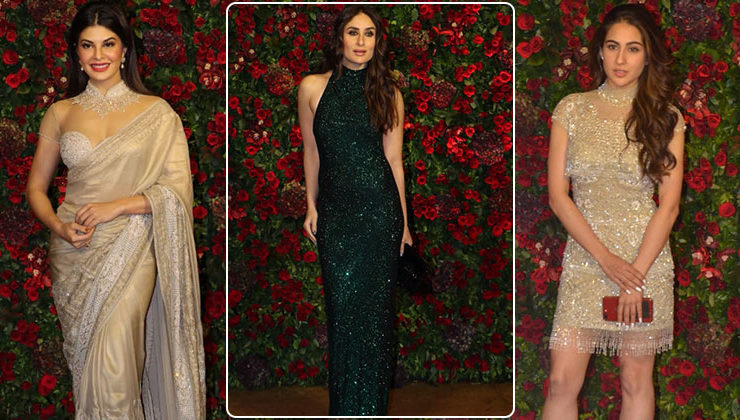 From Kareena, Sara to Jacqueline: All the best dressed celebs at DeepVeer's wedding party