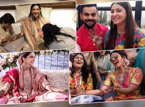Bollywood brides redefining fashion with their unconventional Mehendi outfits