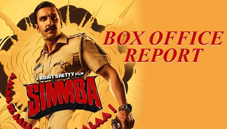 'Simmba' Box Office Report: Ranveer Singh starrer earns big on its first day