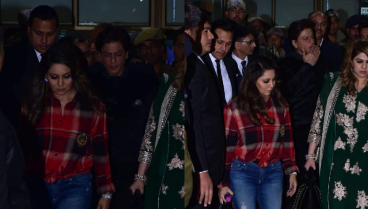 In Pics: SRK and Gauri in Udaipur to attend Isha Ambani's pre-wedding ceremonies