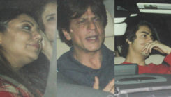 In Pics: SRK, Gauri, Aryan Khan and others snapped at special screening of 'Zero'