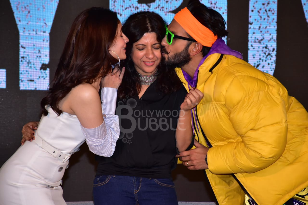 Alia, Zoya and Ranveer