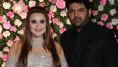 In Pics: Kapil Sharma and Ginni Chatrath look dazzling at their wedding reception