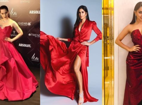 2018 Wrap Up: Take inspiration from B-Town actresses and stand out in 'red' this party season