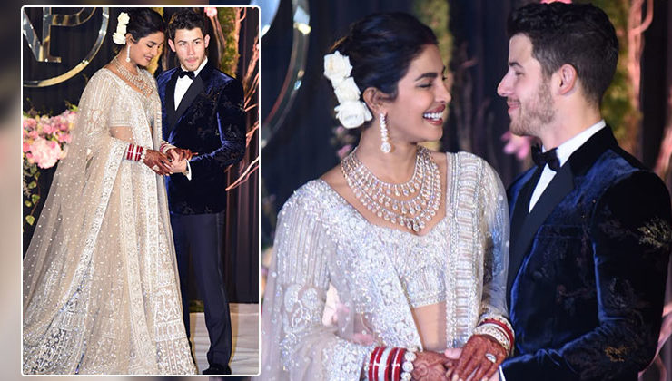 In Pics: Priyanka and Nick are looking drop dead gorgeous at their Delhi reception