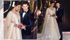 The first look of Priyanka and Nick from their Delhi reception is out and it's all things heavenly