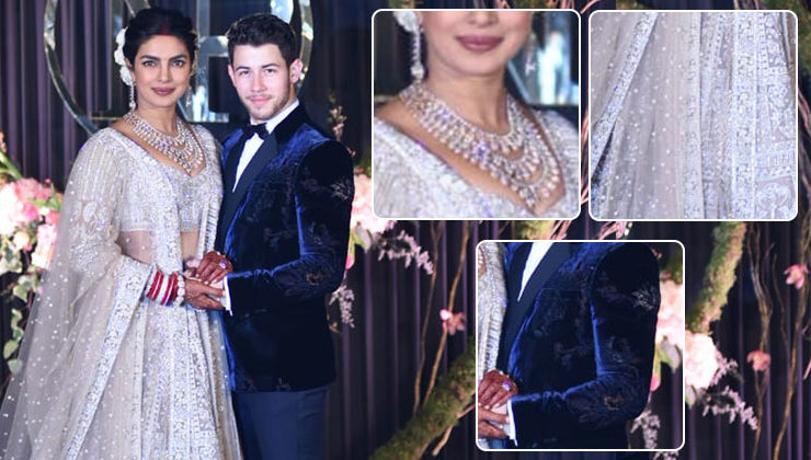 Priyanka Chopra and Nick Jonas Delhi reception: Here are all the details of the couple's amazing ensembles