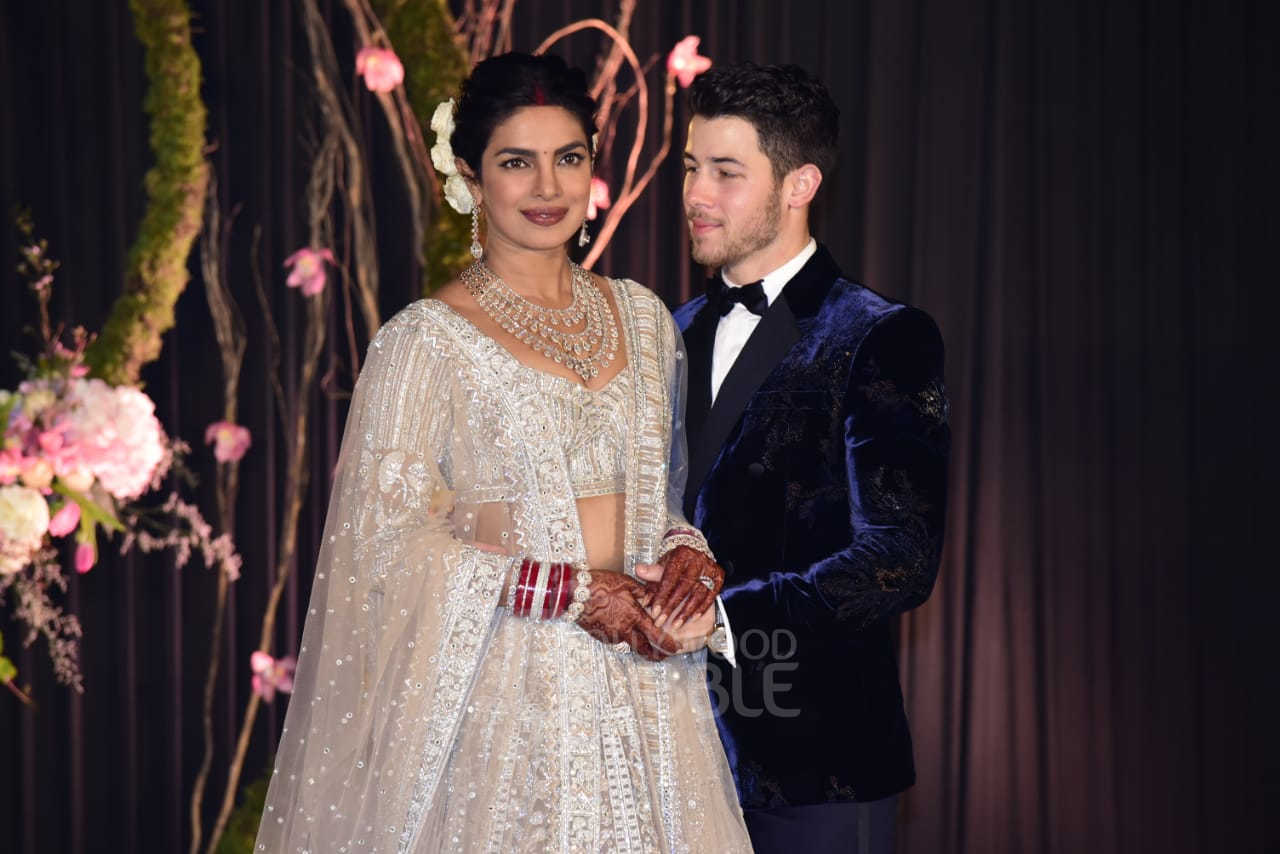 Newlyweds Priyanka and Nick