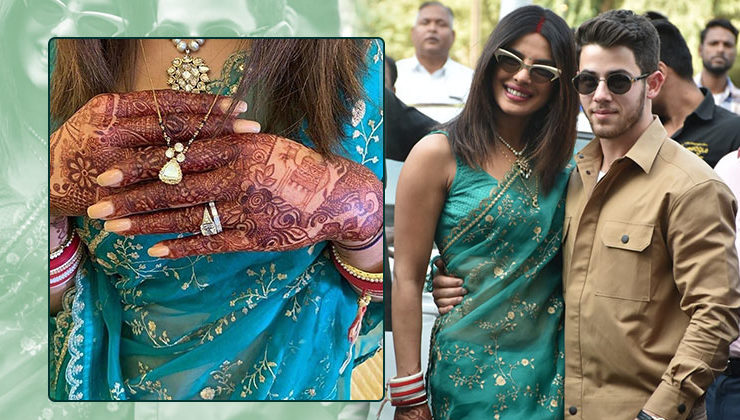We just can't stop gushing over Priyanka's elegant mangalsutra