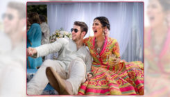 THIS is how Nick reacted when he saw his name on Priyanka's mehendi