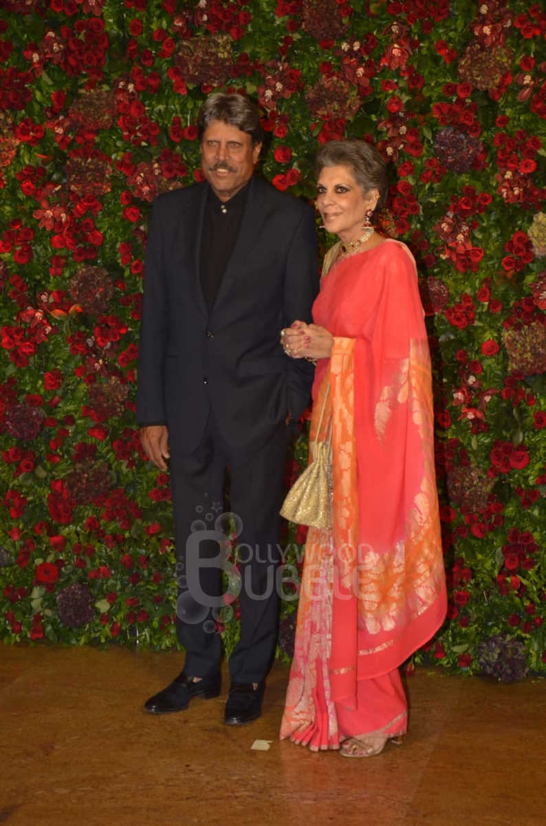Kapil Dev and wife