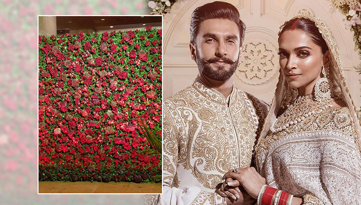 Video: These visuals from DeepVeer's Bollywood party venue are simply amazing