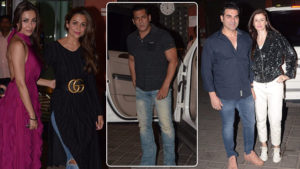 In Pics: Salman Khan, Arbaaz, Malaika Arora and others at Salma Khan's birthday bash
