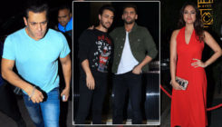 In Pics: Salman Khan, Sonakshi and Aayush attend Zaheer Iqbal's birthday bash