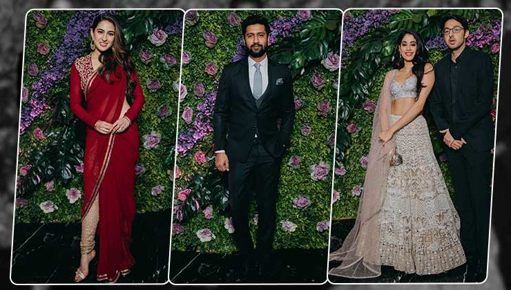 In Pics: Sara, Vicky Kaushal, Janhvi and others grace the wedding party of Dinesh Vijan