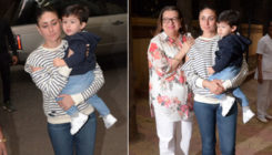Photos: Taimur goes for a stroll with mom Kareena and grandma Babita
