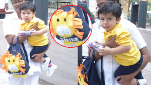 In Pics: Taimur Ali Khan has the cutest customised bag