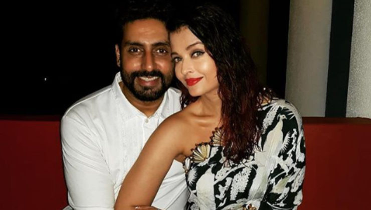 Abhishek Bachchan is feeling the heat with wifey Aishwarya's magazine cover pic