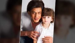 Shah Rukh Khan and his son AbRam are looking adorable in this festive pic