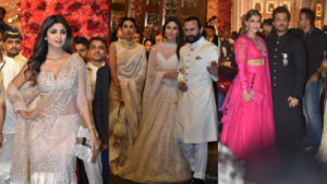 Isha Ambani and Anand Piramal Wedding: Saif, Kareena, Sonam and others bedazzle in their regal ensembles