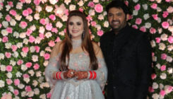 First picture out: Kapil Sharma and Ginni Chatrath dazzle at their Mumbai reception