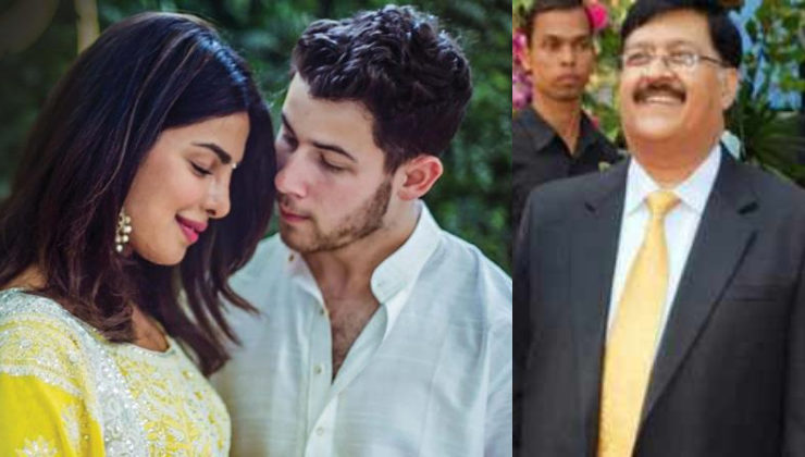 Priyanka got emotional at her wedding, remembering her late father
