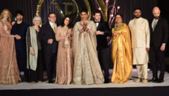 See Pic: Priyanka Chopra and Nick Jonas' big, happy family at their Delhi reception