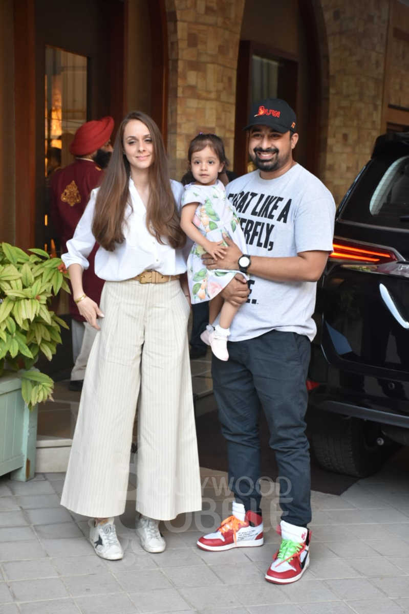 Rannvijay Singhaa with wife Priyanka and daughter Kainaat Singha