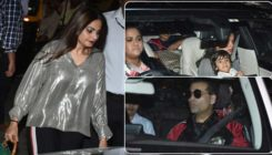 In Pics: Karan Johar, Arpita, Alvira Agnihotri and others arrive at Salman Khan's bash