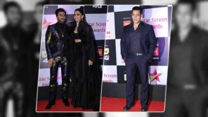 In Pics: Salman, Deepika, Ranveer and others grace the red carpet of Star Screen Awards 2018