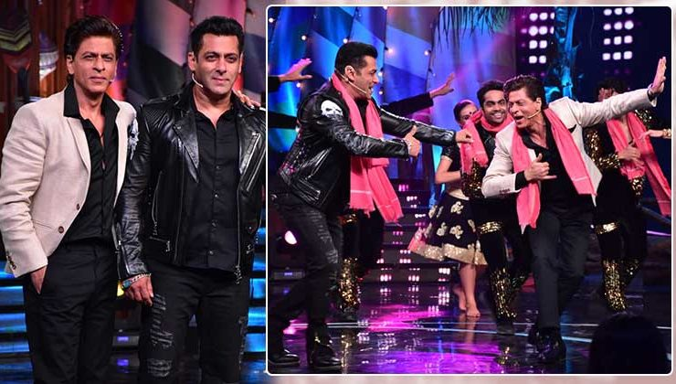 'Zero' Promotions: Shah Rukh Khan and Salman Khan have a gala time on the sets of Bigg Boss 12