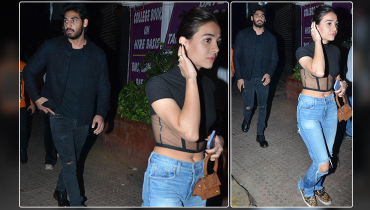 In Pics: Ahan Shetty spotted on a dinner date with alleged girlfriend Tania Shroff