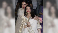 Watch: Aishwarya Rai Bachchan and Rekha exchange hugs and kisses