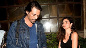 Arjun Rampal picture with girlfriend Gabriella