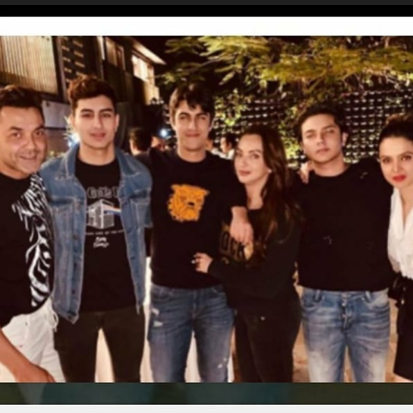 Ibrahim Ali Khan and Sohail Khan son