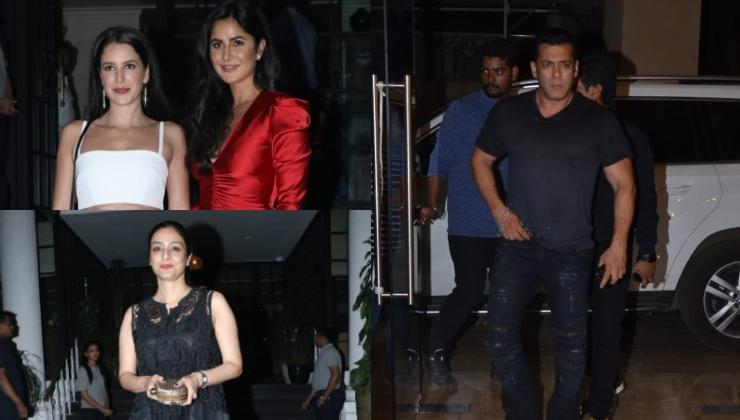'Bharat' stars Salman Khan, Katrina Kaif, Tabu and others hang out in Mumbai