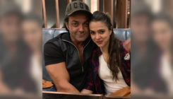 Bobby Deol shares a very romantic and candid moment with wife Tanya; view pic