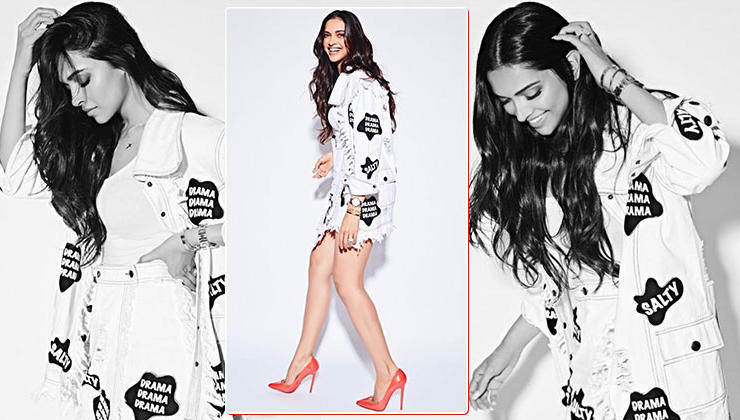 OOTD: Deepika Padukone makes a style statement in white denim separates