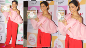 In Pics: Deepika Padukone dazzled in pink and red at a book launch event