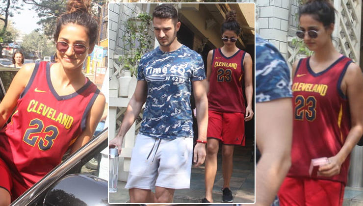 In Pics: Disha Patani yet again spotted with a mystery man