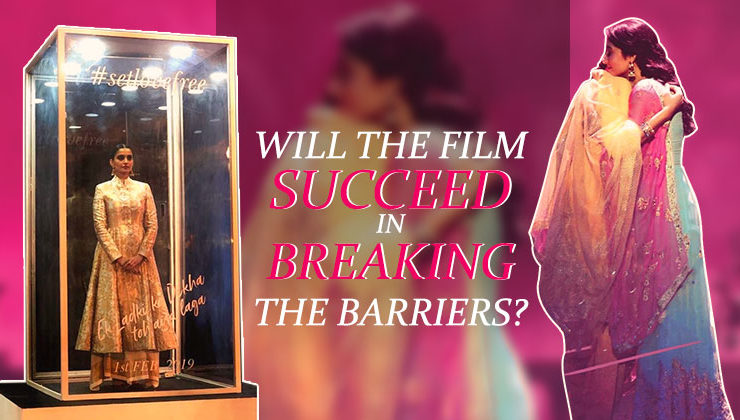 Will Sonam Kapoor's 'Ek Ladki Ko Dekha Toh Aisa Laga' actually help in breaking the barriers?