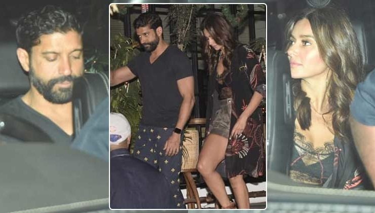 In Pics: Farhan Akhtar and alleged girlfriend Shibani Dandekar spotted on a dinner date