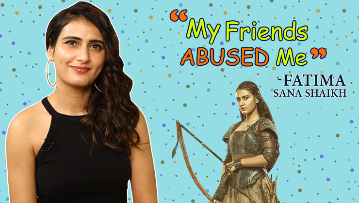 My friends abused me for my acting in 'Thugs Of Hindostan' -Fatima Sana Shaikh